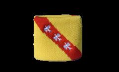 Schweißband Frankreich Lothringen - 7 x 8 cm