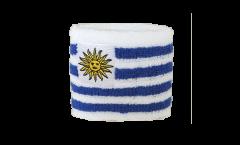 Schweißband Uruguay - 7 x 8 cm