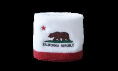 Schweißband USA Kalifornien - 7 x 8 cm